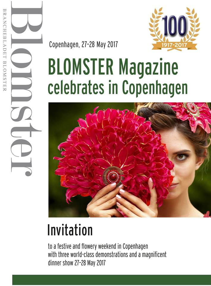 Blomster Magazine 100 Years!